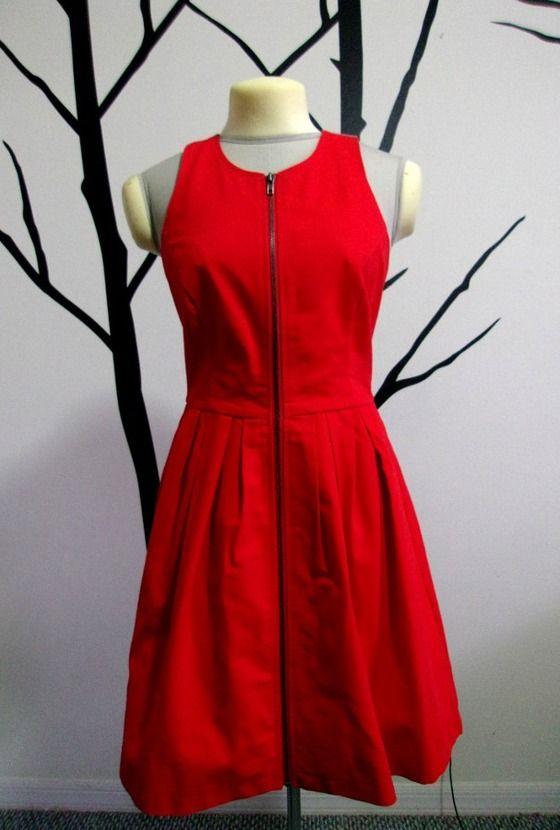 BB Dakota Tilden Dress in Cherry Tomato Red -Fees Paid $69.95