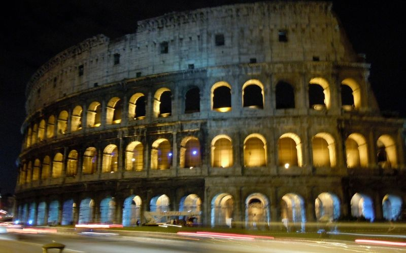 Favourite photos from my travels over the past 6 years: Rome at night. This was from my first time in Rome. The trip was amazing and inspired the creation of my website.