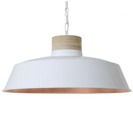 hanglamp sjoukje wit koper huis decoratie pinterest
