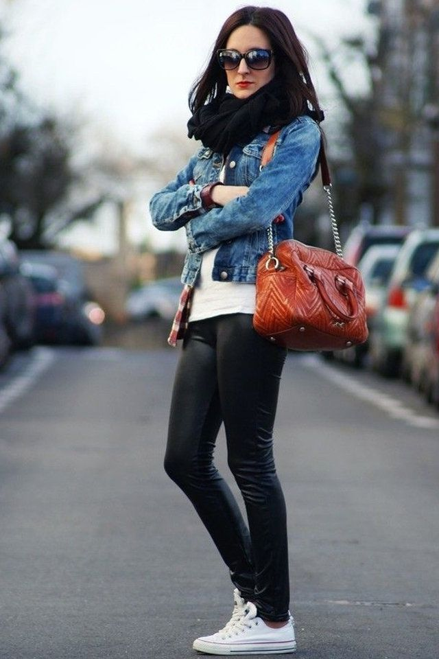 10 Ways to Style Your Denim Jacket in the Winter | Denim jackets ...