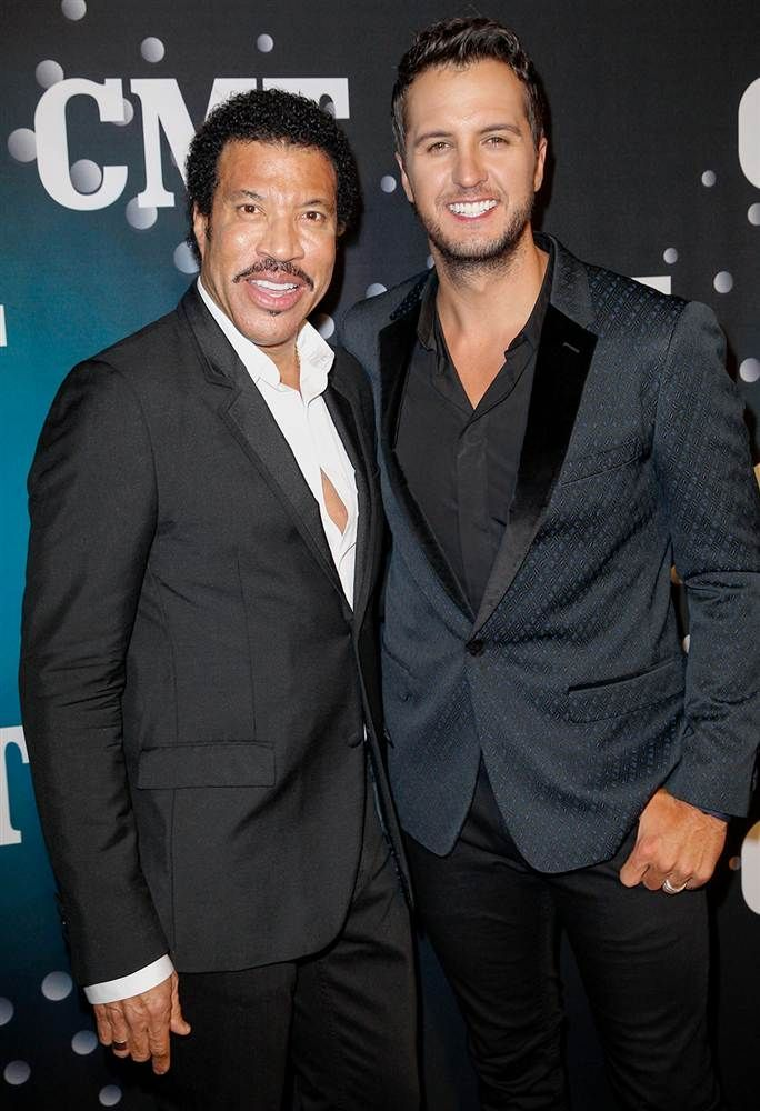 lionel richie and luke bryan | Lionel Richie, Luke Bryan | I Have a Crush on Lionel Richie | Pintere ...