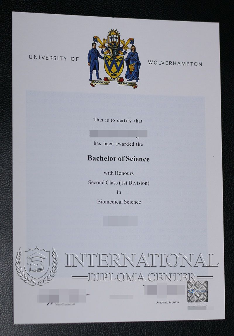 University of Wolverhampton degree sample, buy University of ...