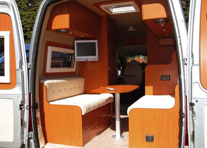 Gmc motorhome interior motorhome interiors gmc motor for Diy car interior decor