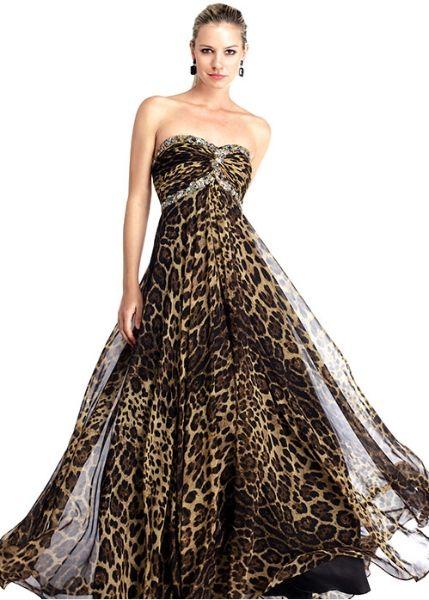 654e8c8c10 leopard print wedding dress -- MINE IS BETTER.  ) This just looks like  cocktail attire.