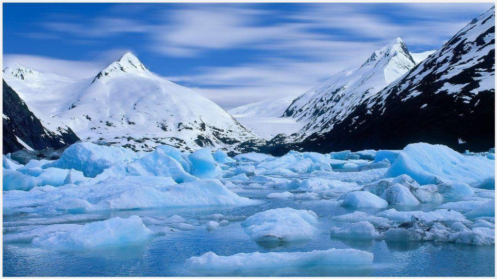 Ice Mountain Glacier Alaska Wallpaper