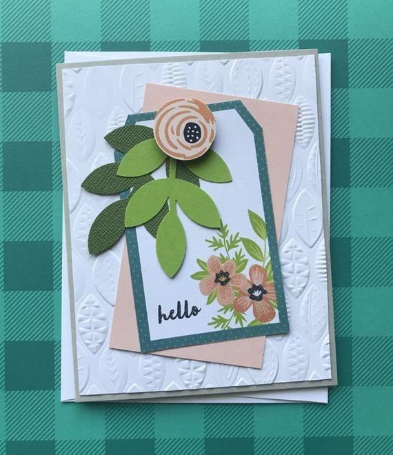 5 pack of handmade cards  cards handmade simple birthday