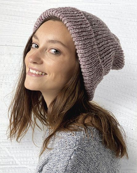 Passioknit Daydream Marle Ribbed Beanie | Craft | Pinterest