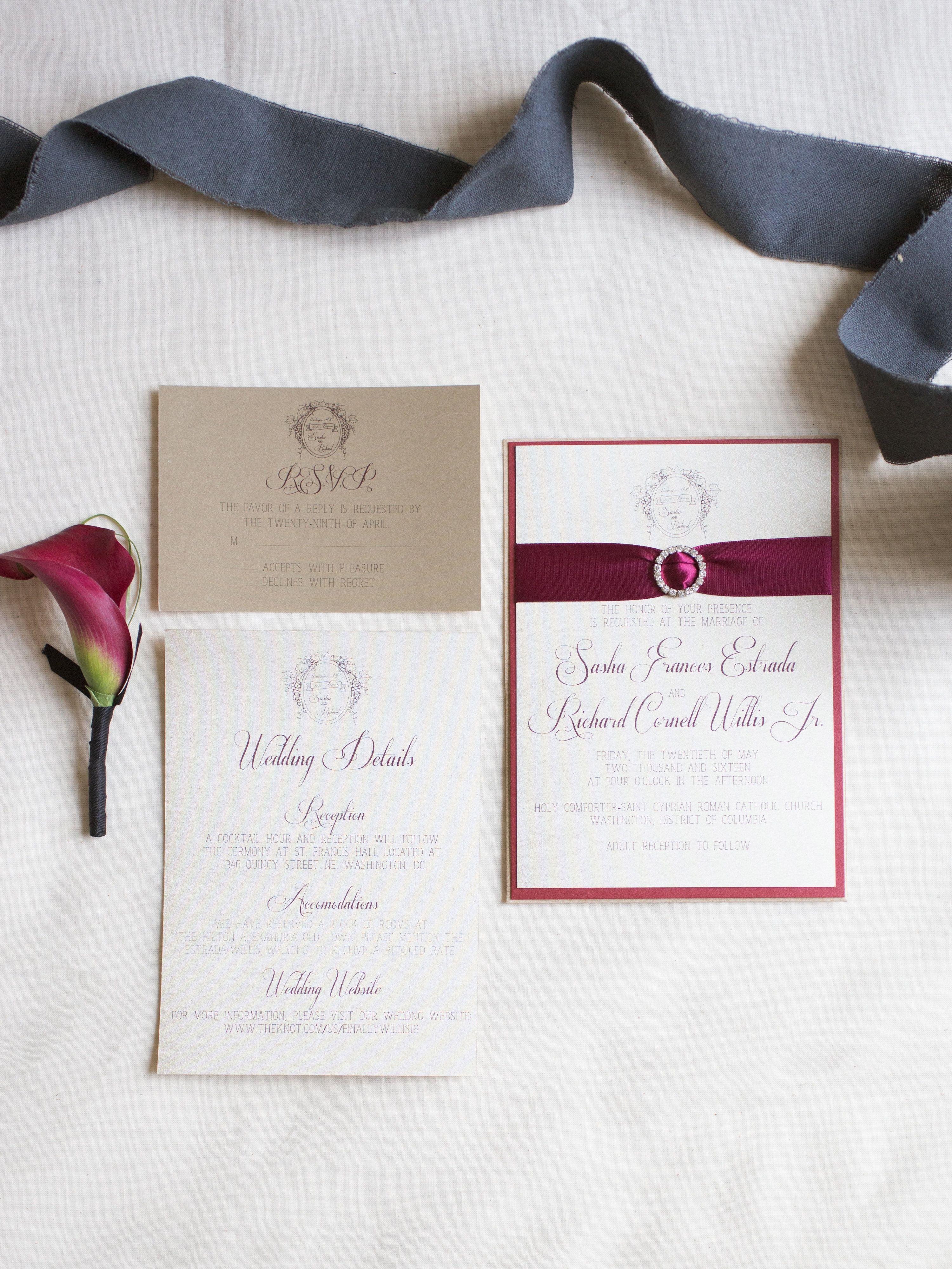 Wedding Stationery: Invitation Trends for 2017 - | Wedding and Wedding