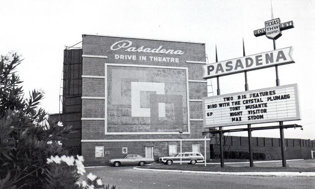 Houston Drive In Theaters Google Search Historic Houston Pasadena Texas Pasadena