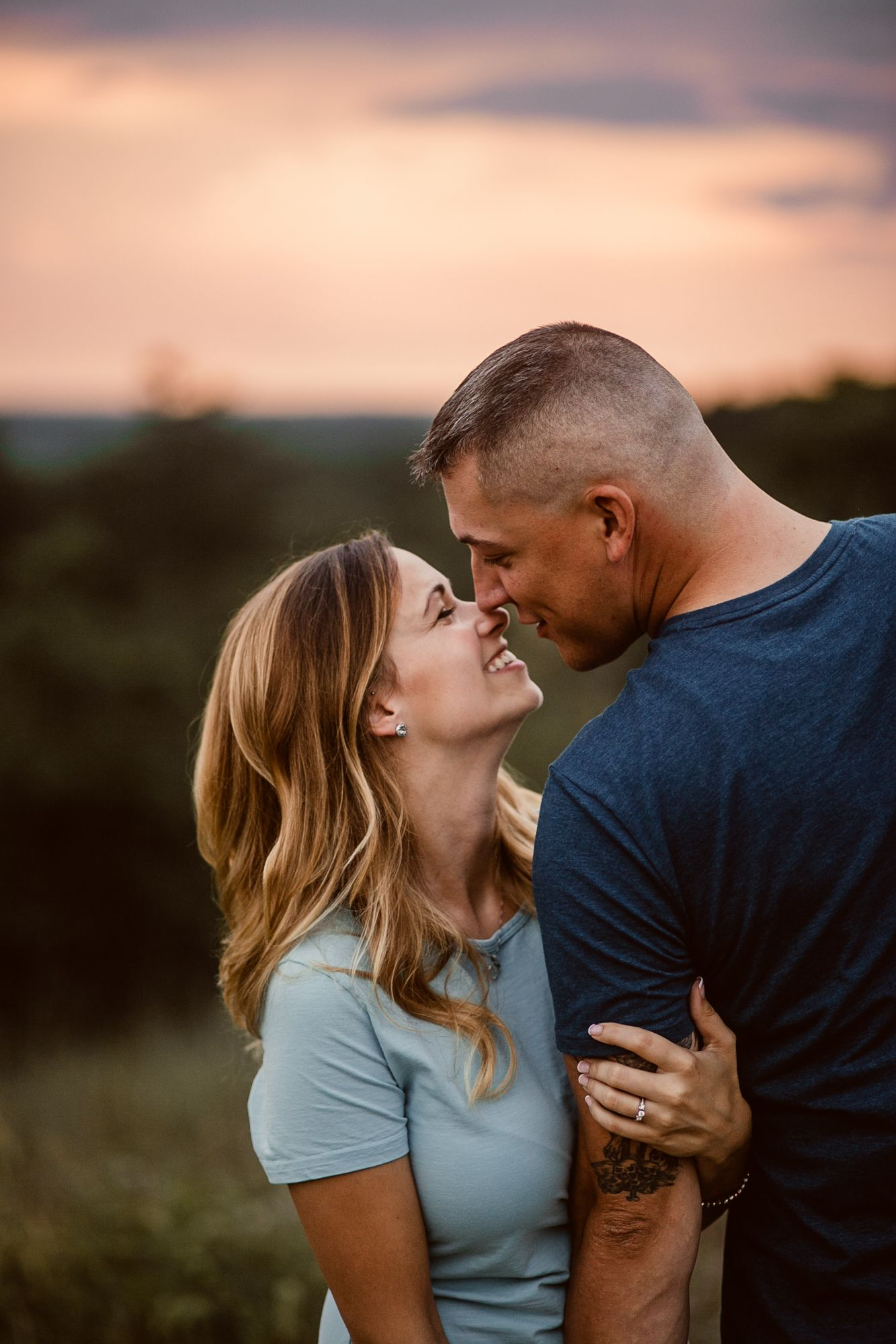 engagement photo session // Reisterstown, MD -- Rustic Life Photography