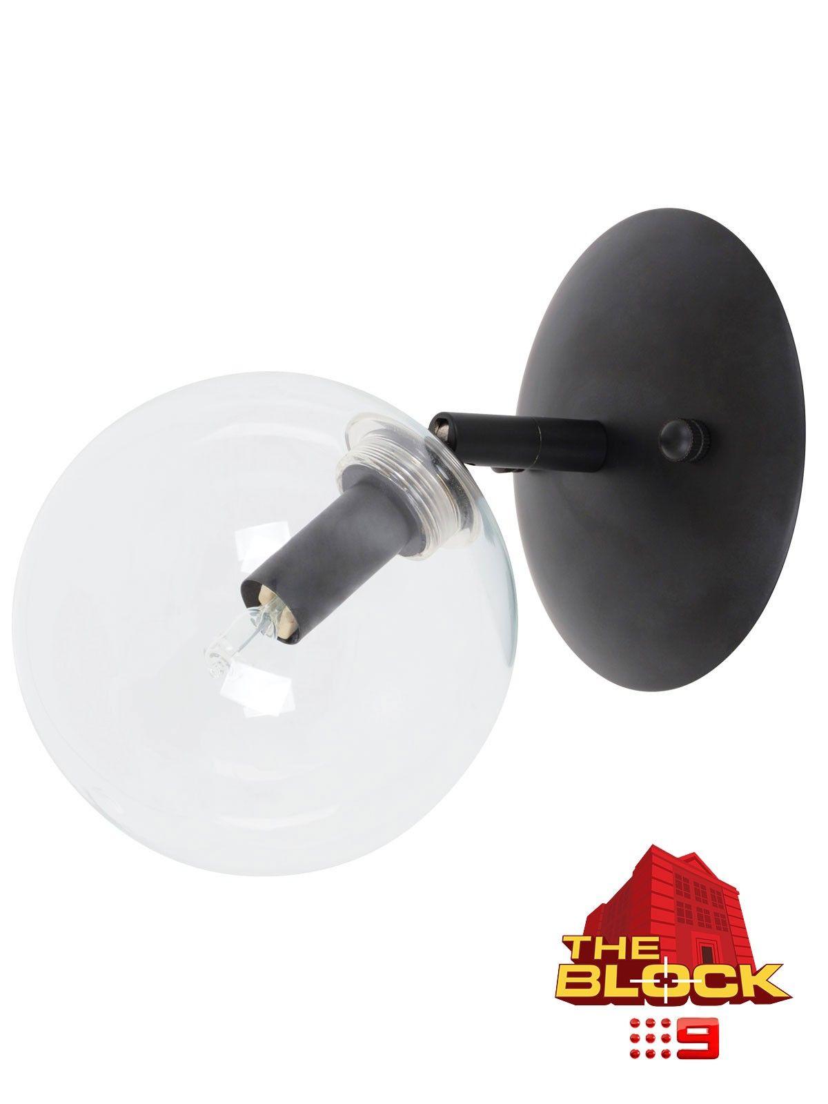 Aksel 1 light wall bracket in blackclear lighting pinterest aksel 1 light wall bracket in blackclear aloadofball Images