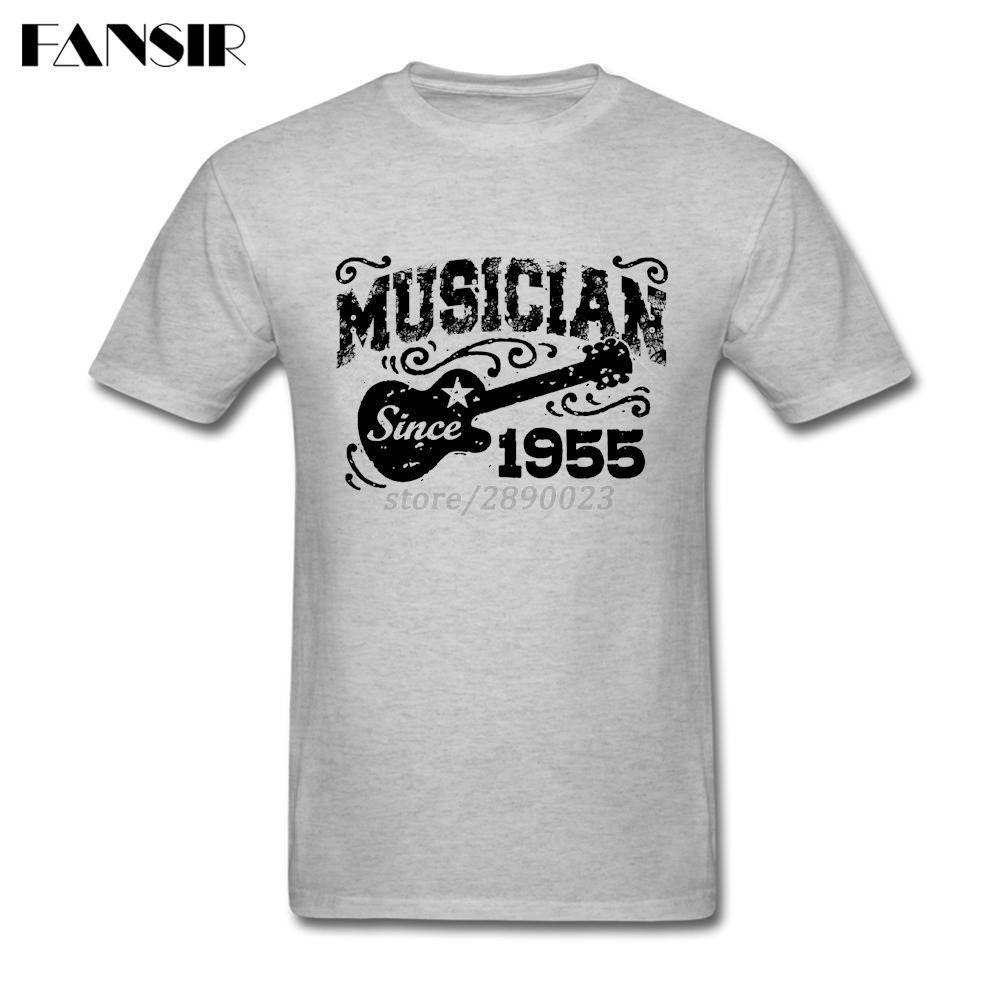 Big Size Musician Since 1955 New Designed Shirts For Men Custom