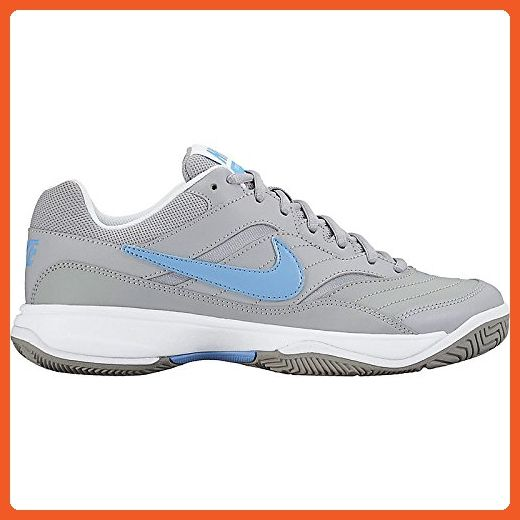 New Nike Women S Court Lite Tennis Shoe Grey Light Blue 8 Athletic Shoes For Women Amazon Partner Link Nike Women Nike Tennis Shoes
