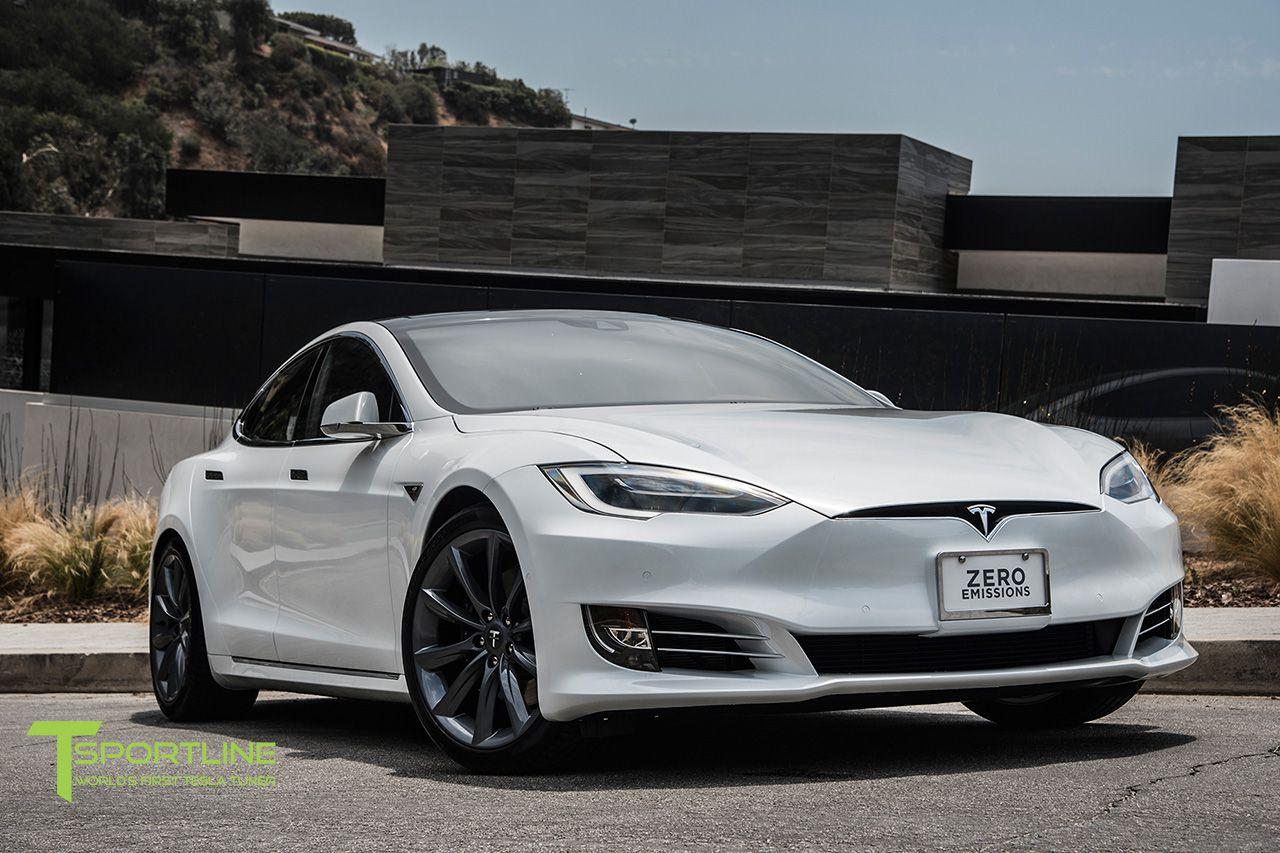New Pearl White Tesla Model S 70d 20 Inch Tst Metallic Grey Wheels Tesla Model S Tesla Model Tesla