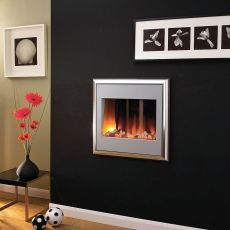 a small wall mounted fireplace would be very romantic hanging over rh pinterest com small wall mount ethanol fireplace small wall mounted natural gas fireplace