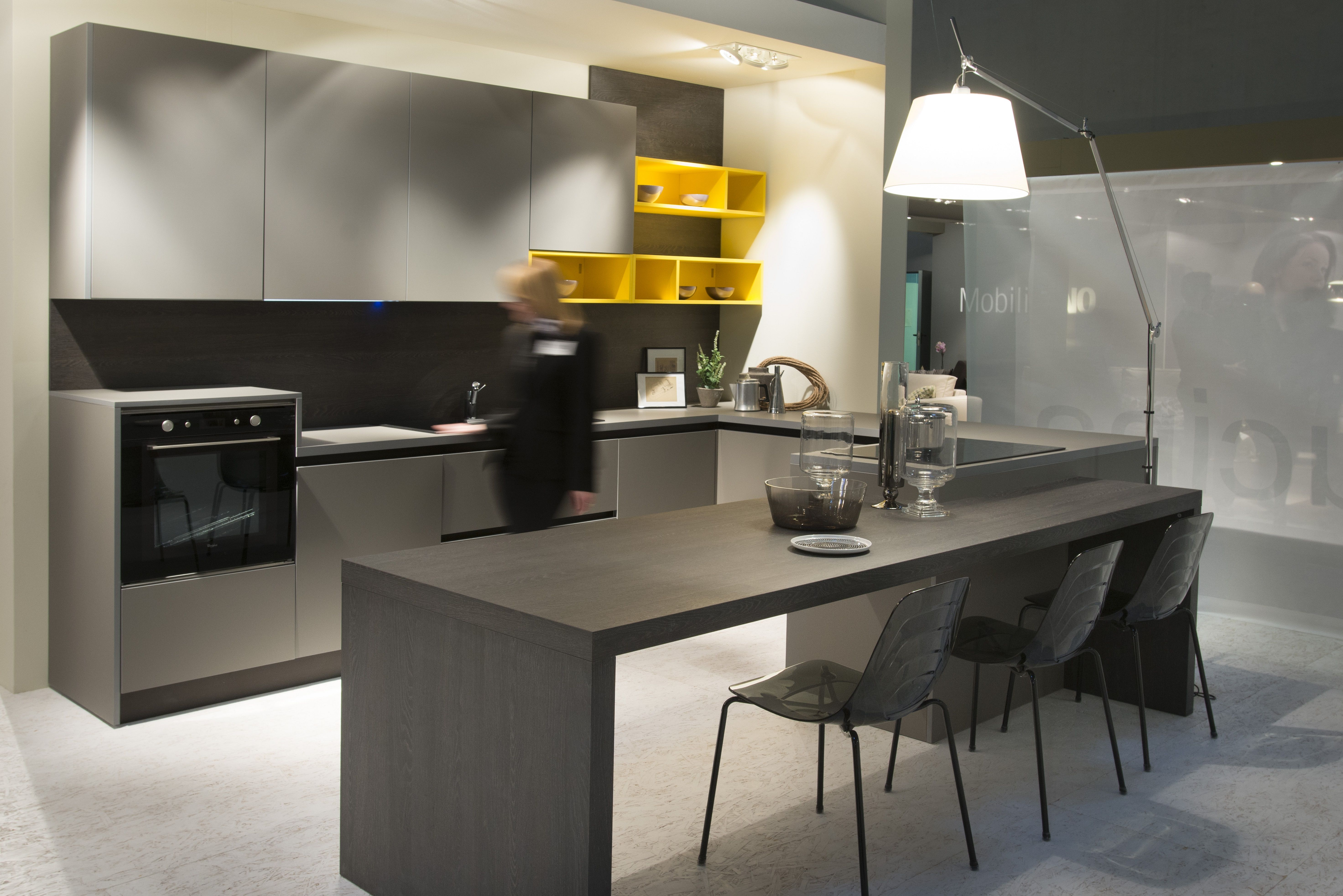 Contemporary Kitchen Design Cool Modern Kitchen With Fenix Ntm Matte Surfaces Would Look Great In Inspiration Design