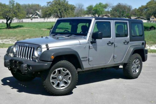 2014 Jeep Wrangler Unlimited Sport Right Hand Drive 4x4 4wd Jeep