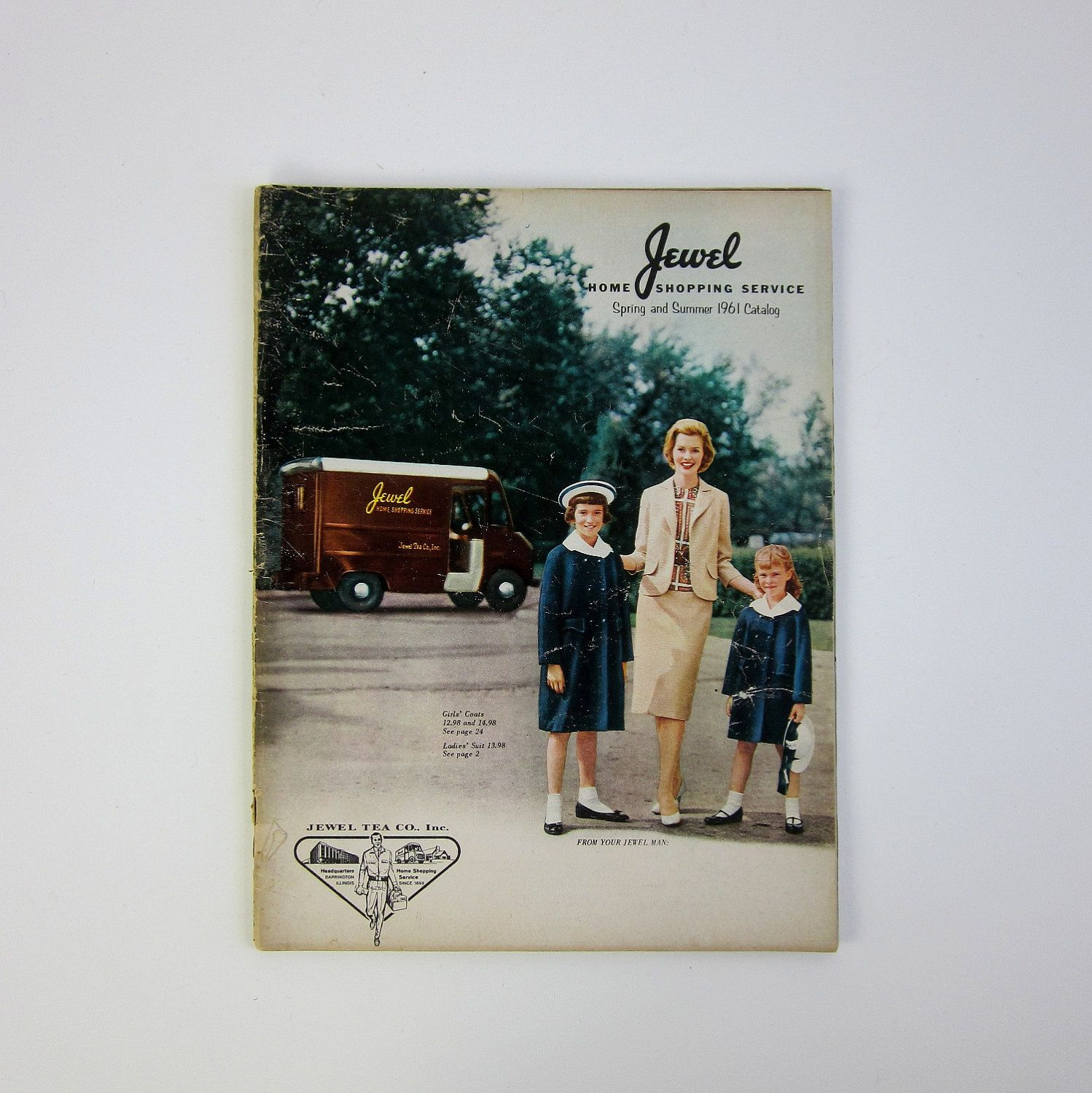 Home Shopping Catalog: SHOP SALE // Jewel Home Shopping Service 1961 Spring