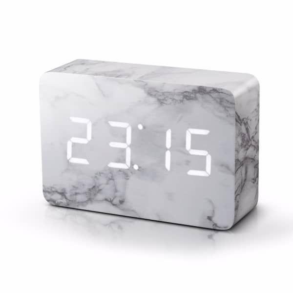 Brick Marble Click Clock | Gingko Electronics | Wolf & Badger
