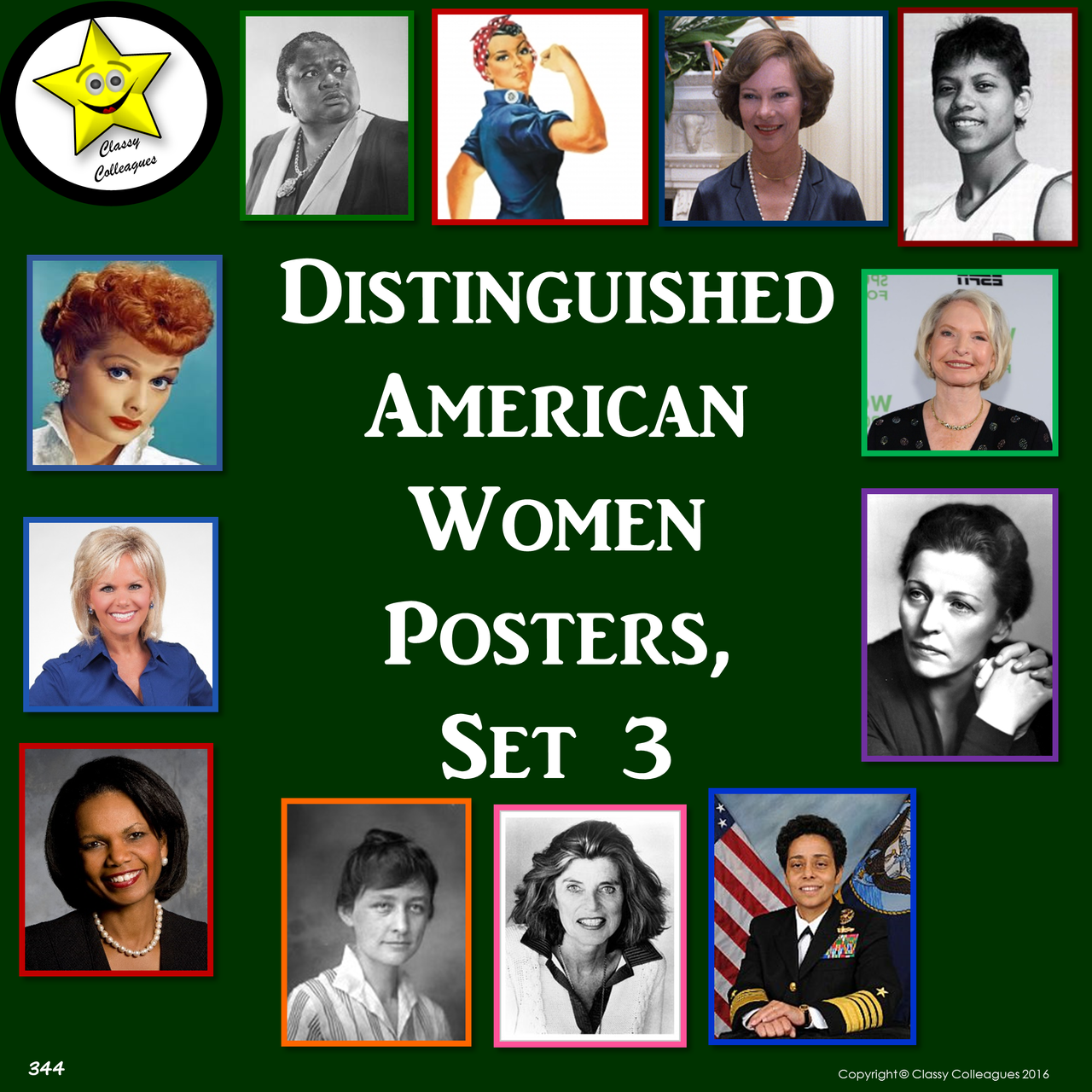Distinguished American Women Set 3