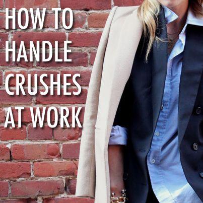 crush at work advice