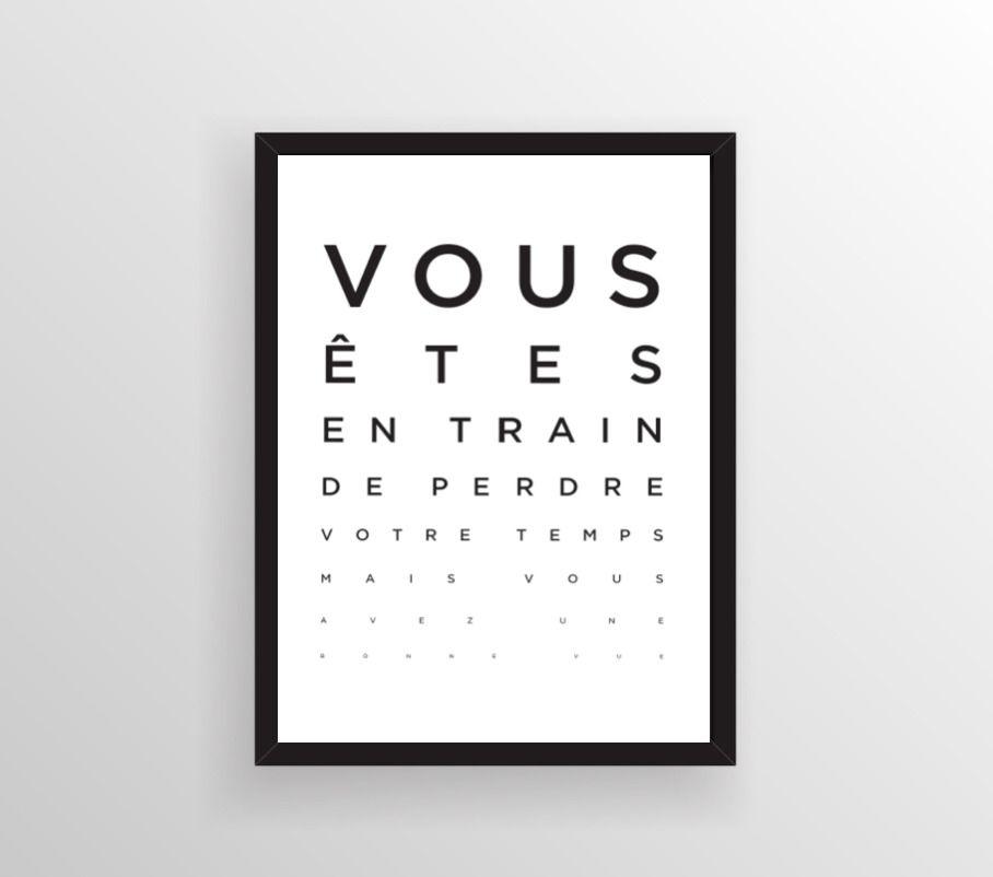 Affiche Moderne Poster Marrant Création Graphique Moderne