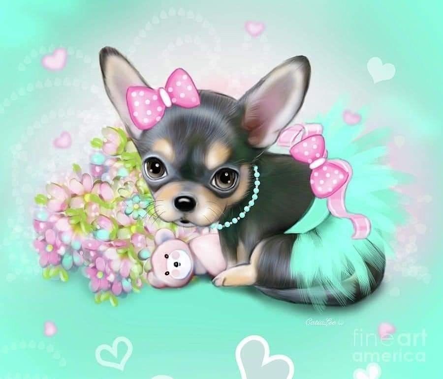 Pin By Nina On Dogs Animal Drawings Dog Art Cute Animals