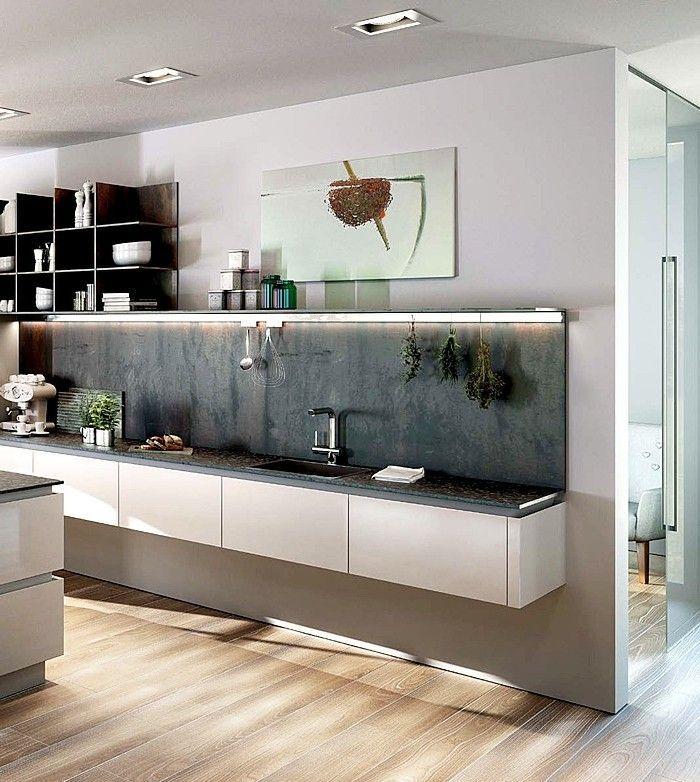 ▷ 1001+ Ideen zum Thema Küche streichen - neuste Farbtendenzen - wand laminat küche