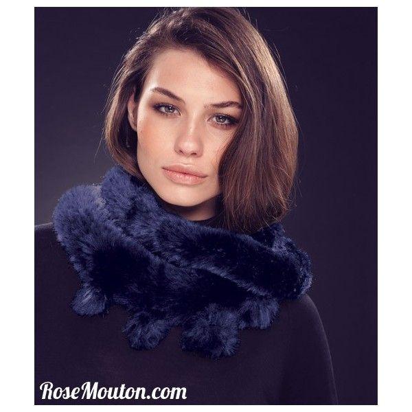 tricoter un snood en fil fourrure