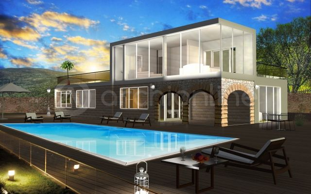 Maison Kelly - Plan de maison Traditionnelle par Archionline - Plan De Construction D Une Maison