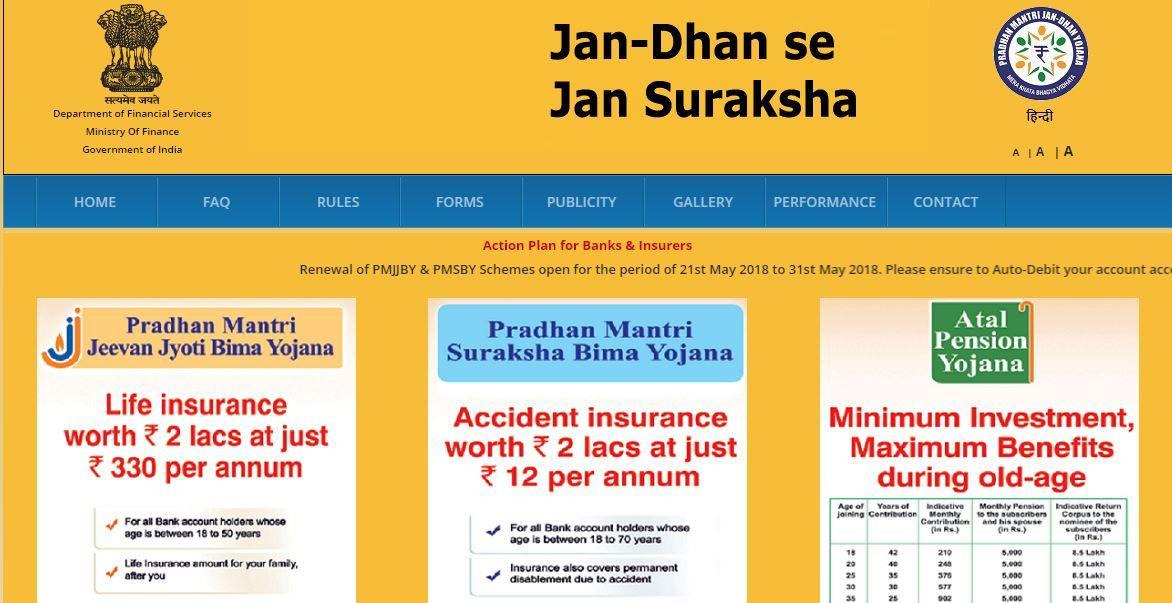 PM Suraksha Bima Yojna The Finanacial Scheme