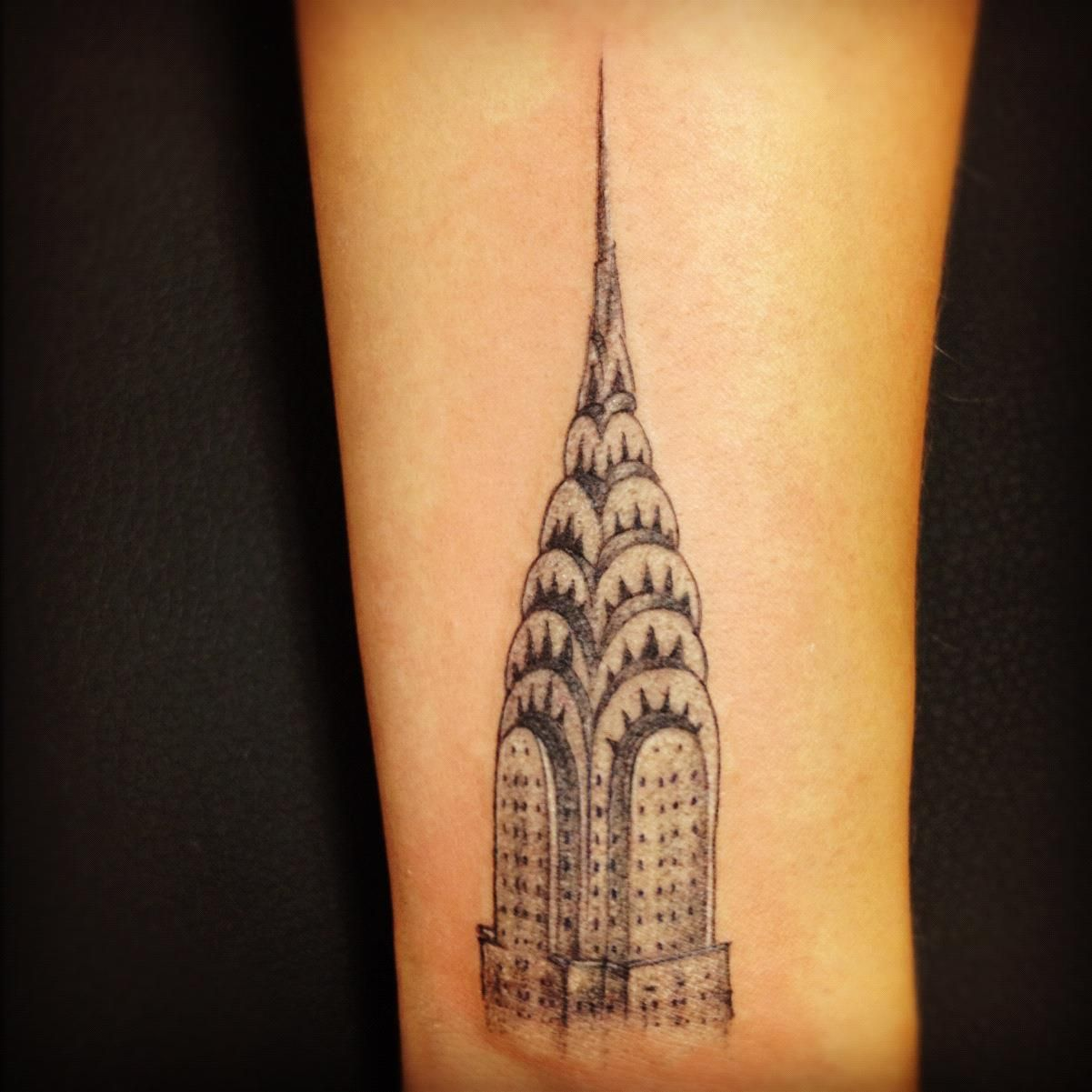 My Chrysler Building Tattoo With Images Matching Tattoos Pen