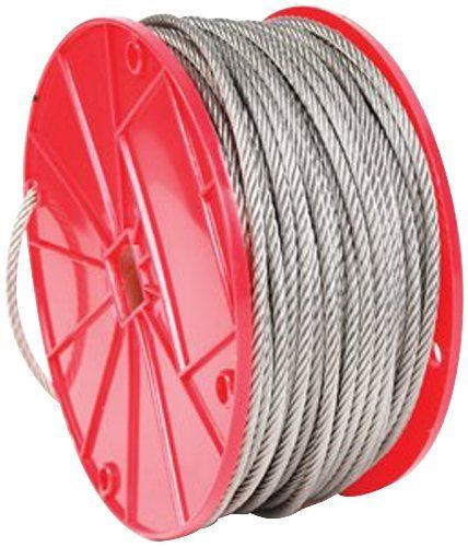 Koch 015072 3 32 By 250 Feet 7 By 7 Cable Stainless Steel By Koch Save 23 Off 42 95 From The Manufacturer Stainless Steel Cable Steel Stainless
