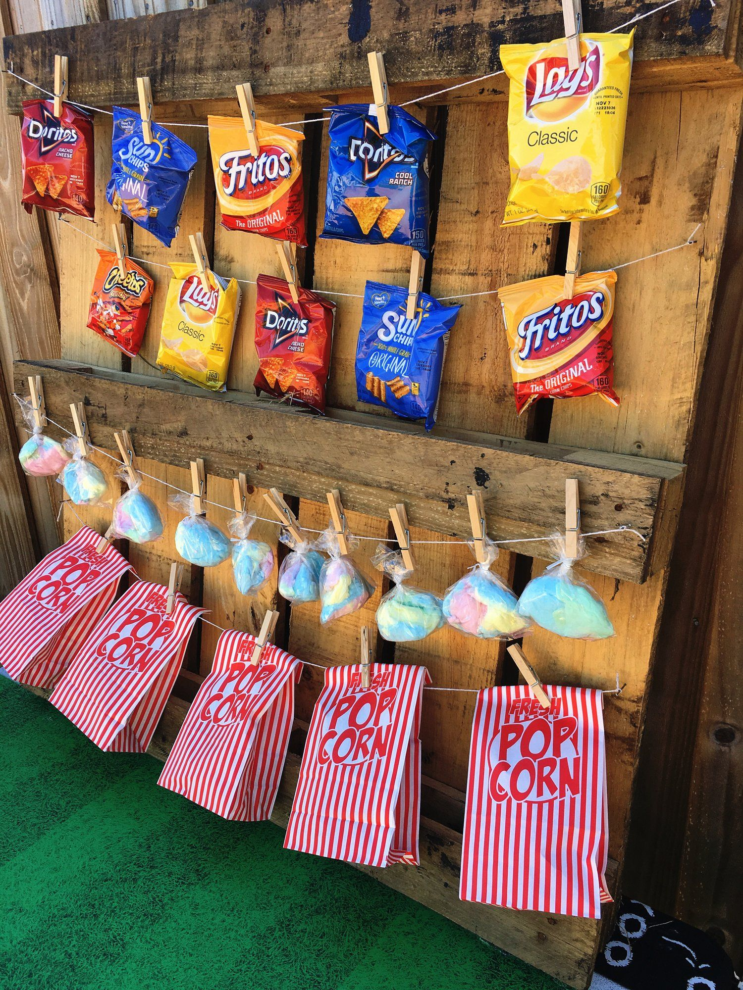 DIY Concession Stand to help with your football night