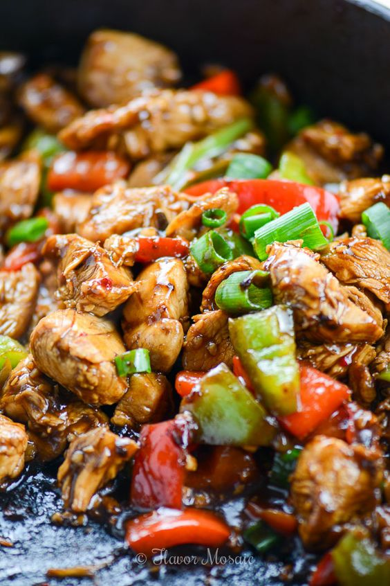 Easy Kung Pao Chicken images