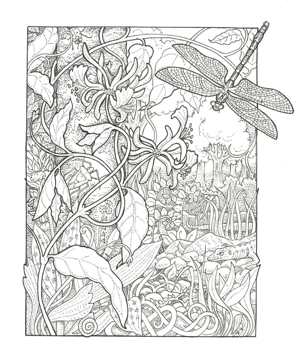 Habitate - Black & White im Auftrag - Coloring Pages # 8 - #amp