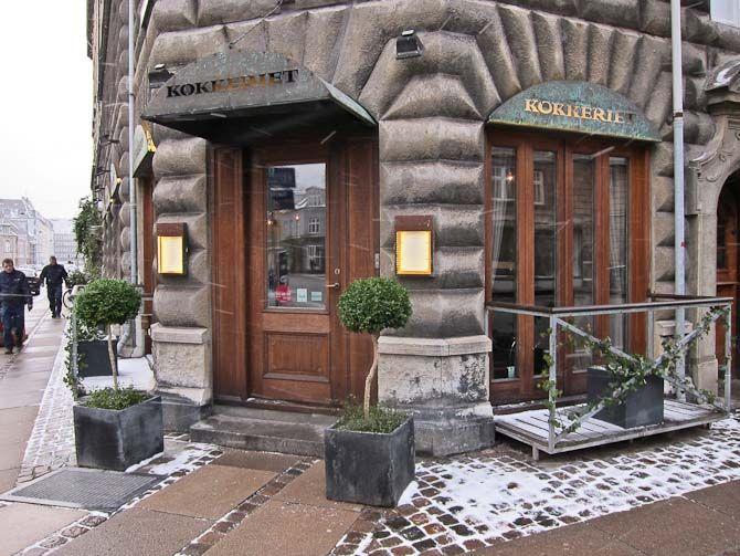 Restaurant Kokkeriet, Copenhagen - Old Danish and Michelin-art