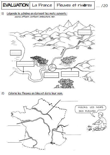 Géographie CM1 séquence 1 : les grands types de paysages