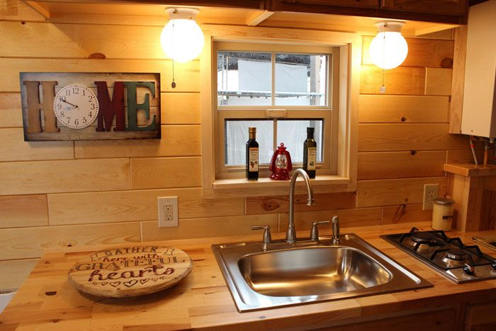 tiny house kitchen - home design ideas