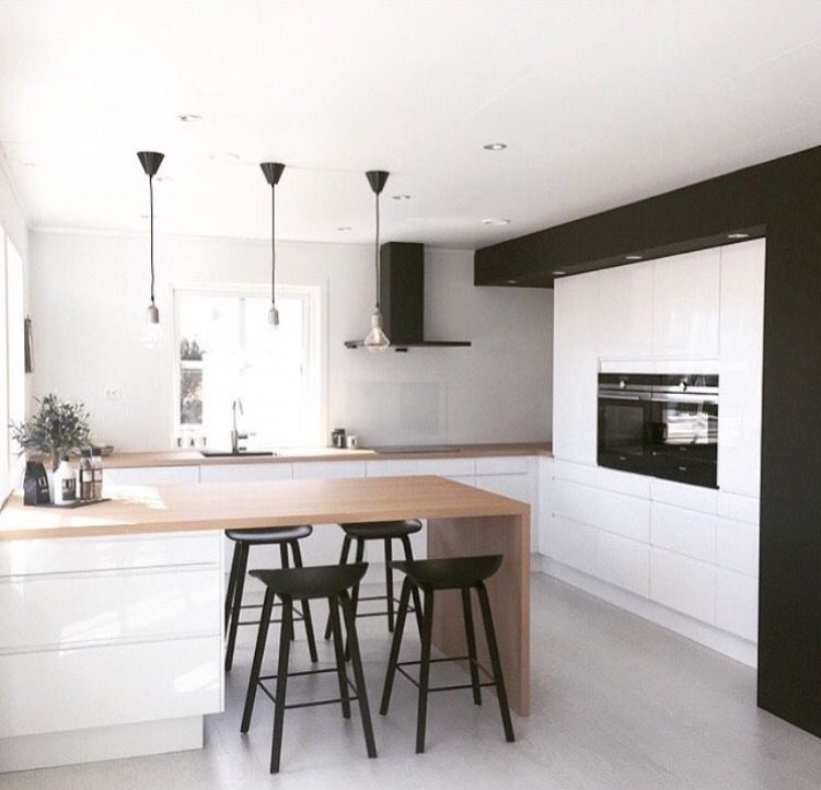 Modern · Simple Kitchen DesignModern ...
