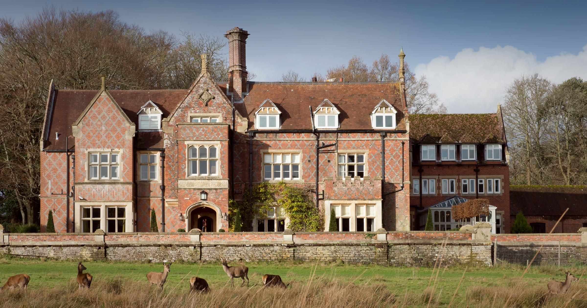 This is a manor house hotel for the 21st century; where old meets bold and there is absolutely no need to whisper.