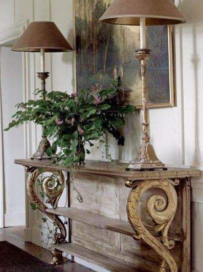 Proportionally Perfect Gorgeous Foyer Decorating Decor Tuscan Decorating