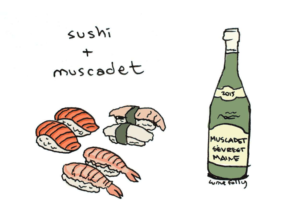 pairing wine with sushi http://wfol.ly/1MvOYfz
