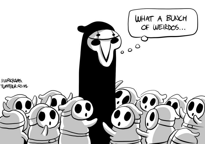 Reaper with bunch of shy guys, request by patron Artyom