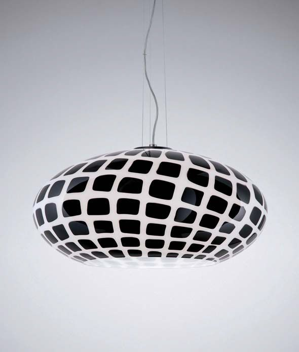 Contemporary pendant lamp (Murano glass) TATTOO S by Marco Piva ...