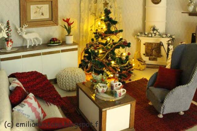 Christmas - Dollhouse Miniature - Emilian kotona Home blog