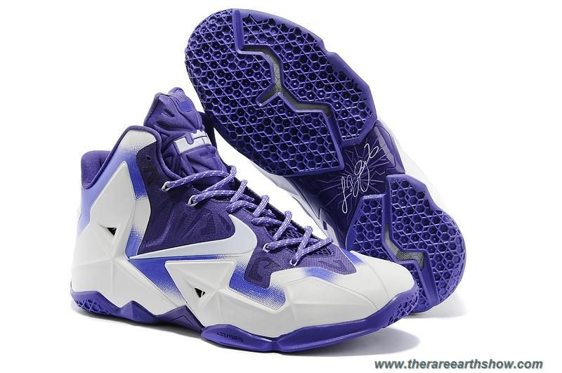 ece3ceb501d Electric Purple White Nike LeBron 11 Online