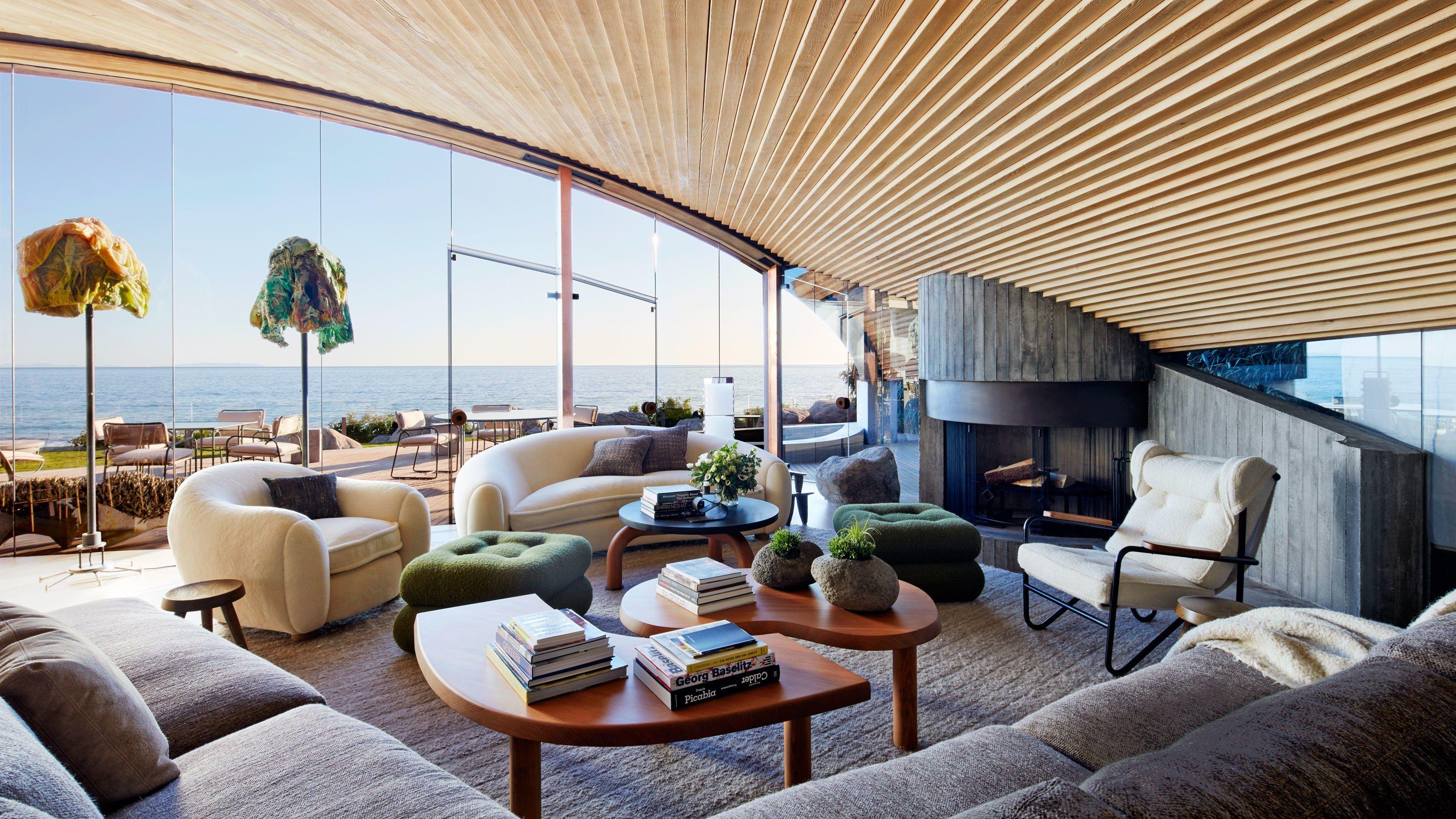 A John Lautner Beach House in Malibu Is Revitalized   ahhh ...