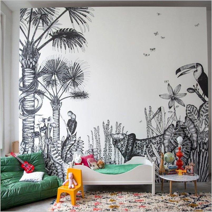 Papier Peint Deco Chambre Enfant In 2020 Kids Room Inspiration