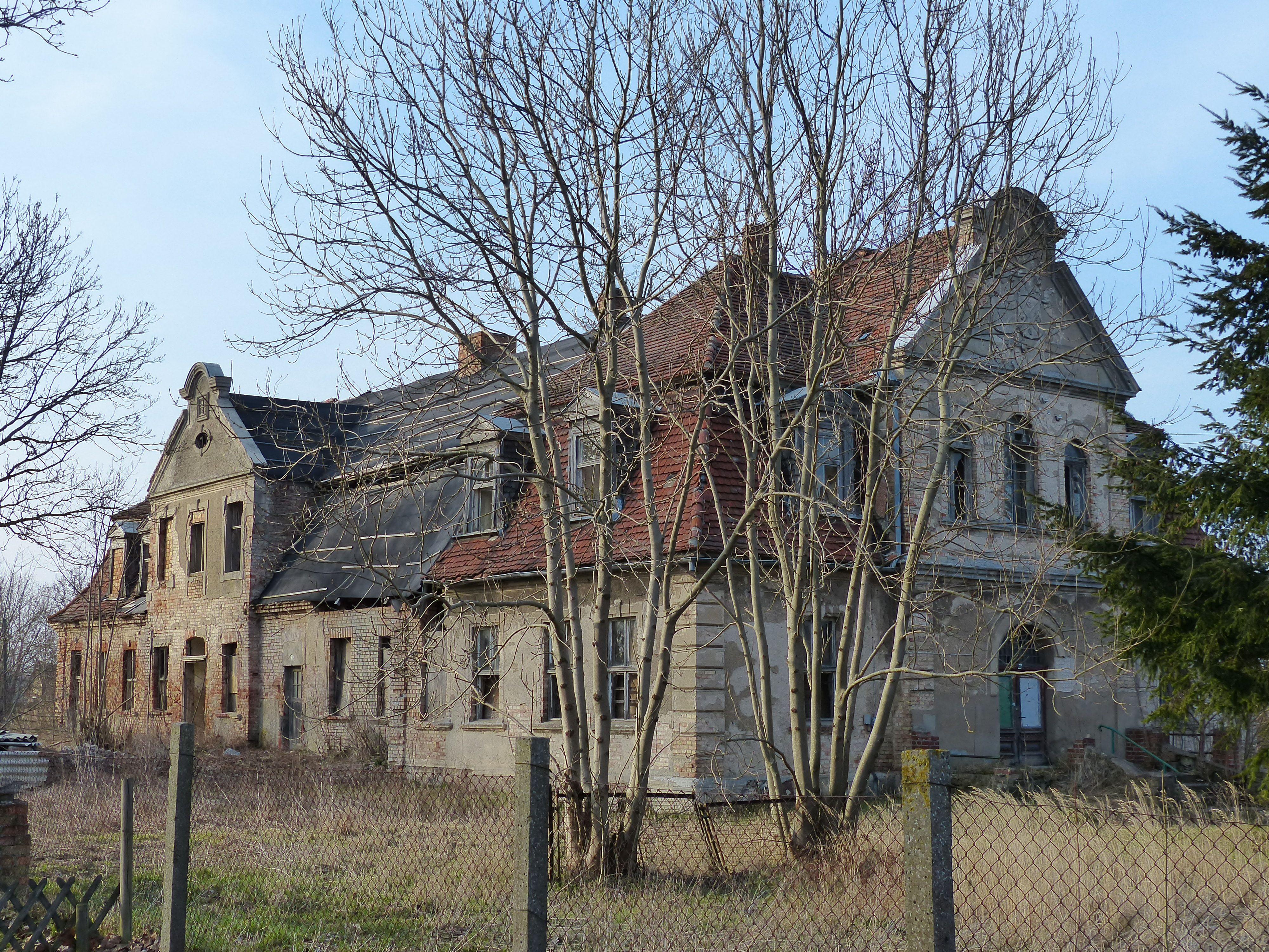 Gutshaus Dargibell in MecklenburgVorpommern (Familie von